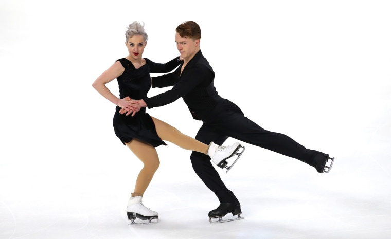 Image: Karina Manta and Joe Johnson competed at the U.S. Figure Skating Championships in Detroit, Michigan, on Jan. 25, 2019.