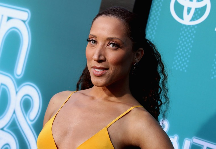 Image: Robin Thede attends the Soul Train Awards in Las Vegas on Nov. 5, 2017.