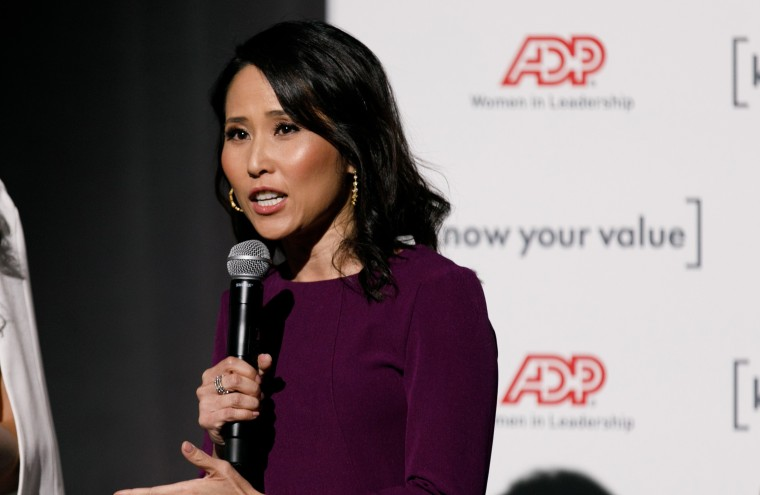 Vicky Nguyen, senior investigative reporter and anchor for NBC Bay Area, at the Know Your Value national event in San Francisco on Dec. 1, 2018.