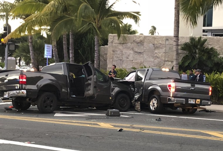 Image: Fatal car accident Honolulu