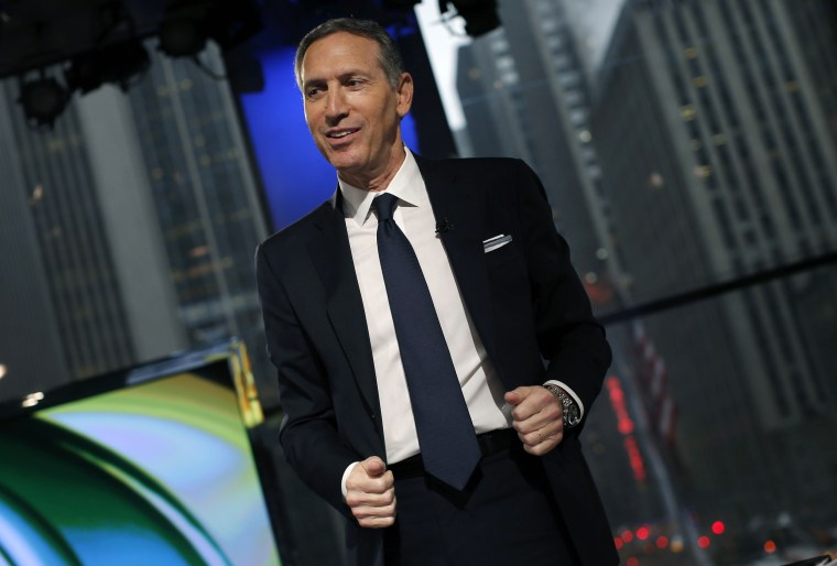 Howard Schultz in New York City