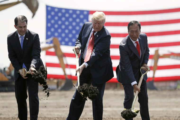 Donald Trump,Scott Walker,Terry Gou