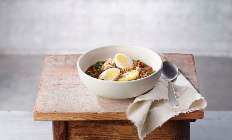 Image: Lentil Quinoa Broth Bowl
