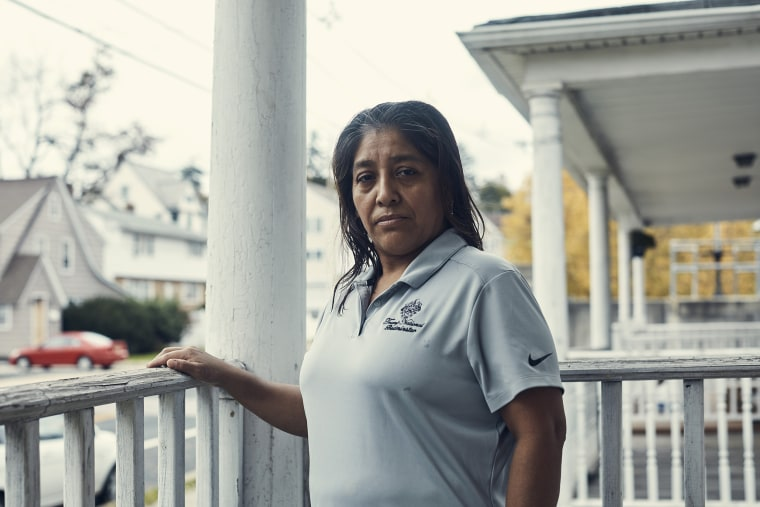 Victorina Morales at her home in Bound Brook, N.J.