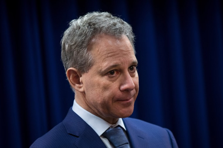 Image: NY AG Eric Schneiderman Resigns After Physical Abuse Claims New York Attorney General Eric Schneiderman And Brooklyn DA Gonzalez Make Immigration Announcement