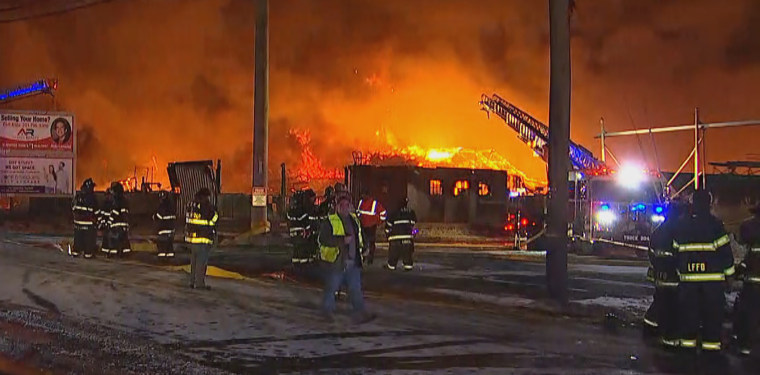 Image: Marcal Paper Mills Fire