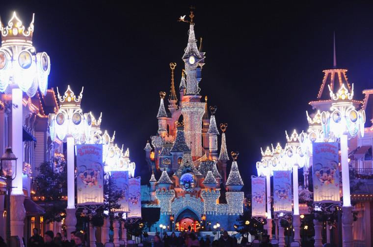 Image: The Sleeping Beauty Castle at Disneyland Resort Paris in France.