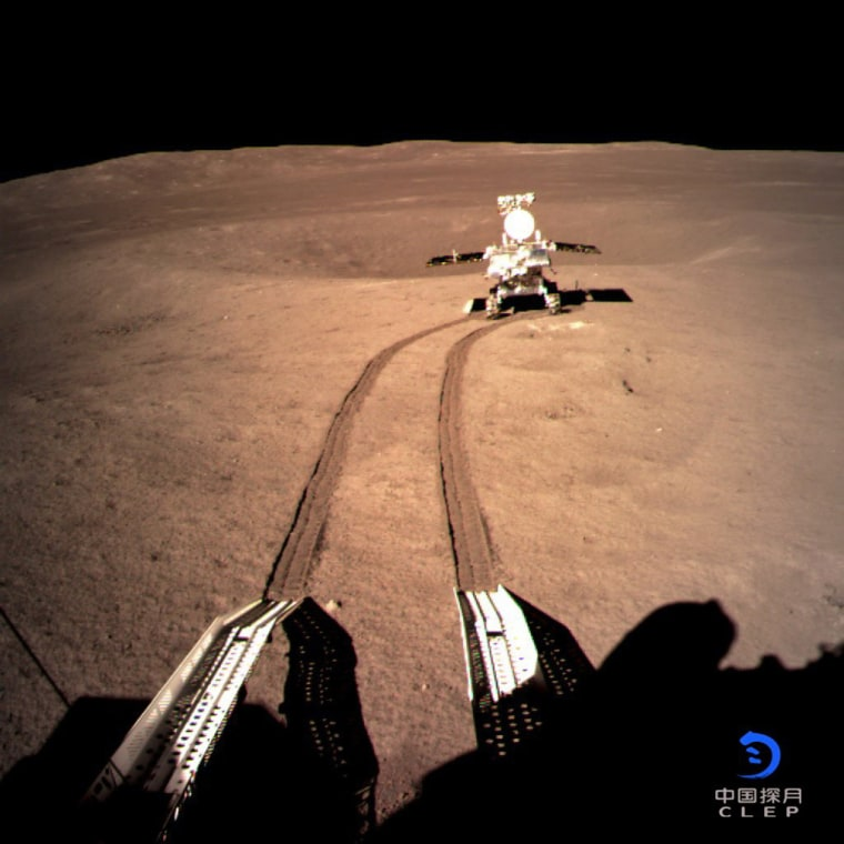 Image: Chinese lunar probe make historic first ever soft-landing on far side of moon