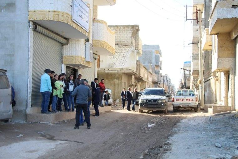 Image: Church of the Brethren in Kobane, Syria