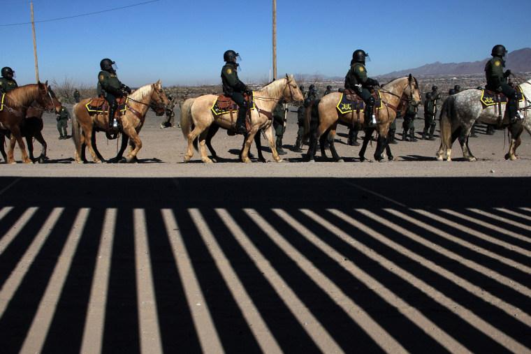 Image: Border Mexico, US