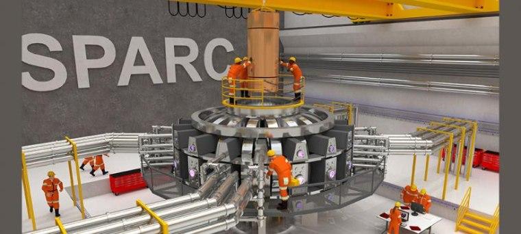 Image: SPARC tokamak experiment