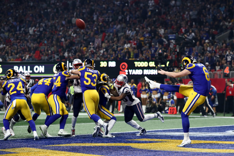 Image: Super Bowl LIII - New England Patriots v Los Angeles Rams