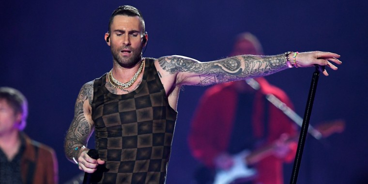 Adam Levine/Super Bowl