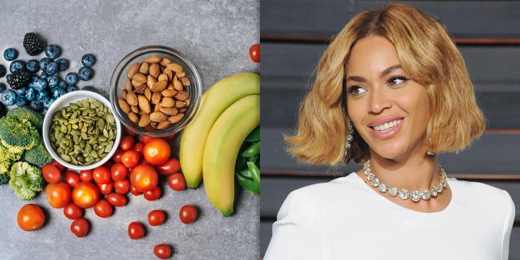 Beyonce vegan promo