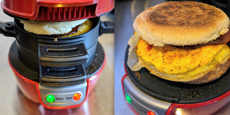 I tried the breakfast sandwich maker with over 4,300 reviews and it's amazing