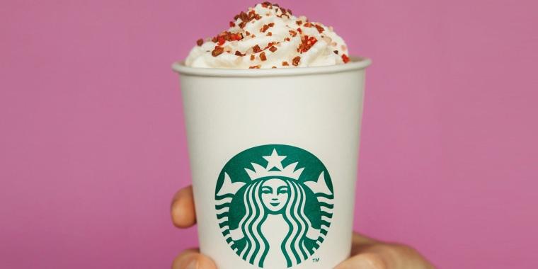 Starbucks Valentine's Day Cherry Mocha drink