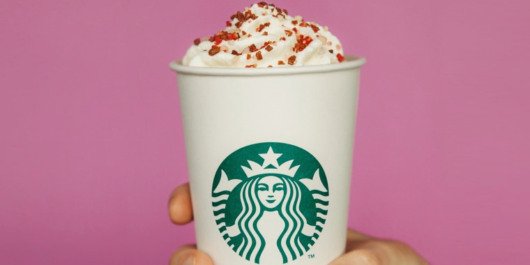 Starbucks Valentine's Day Cherry Mocha drink