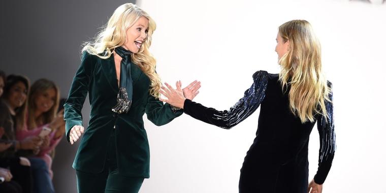 Christie Brinkley and daughter Sailor walk the runway