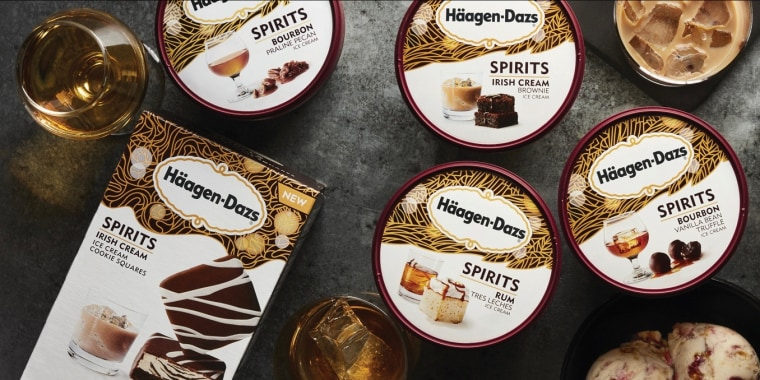 H?agen-Dazs launches new line of boozy flavors.