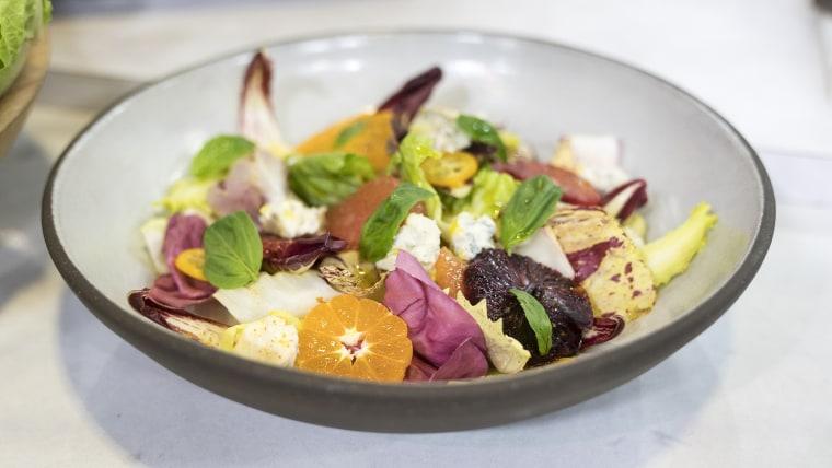 Jean-Georges Vongerichten's escarole salad