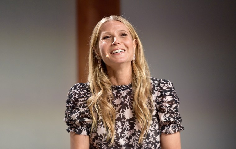 Gwyneth Paltrow onstage at the In goop Health Summit at 3Labs in Culver City