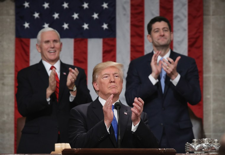 Image: Donald Trump SOTU 2018