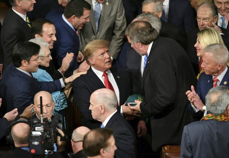 Image: US-POLITICS-TRUMP-SOTU