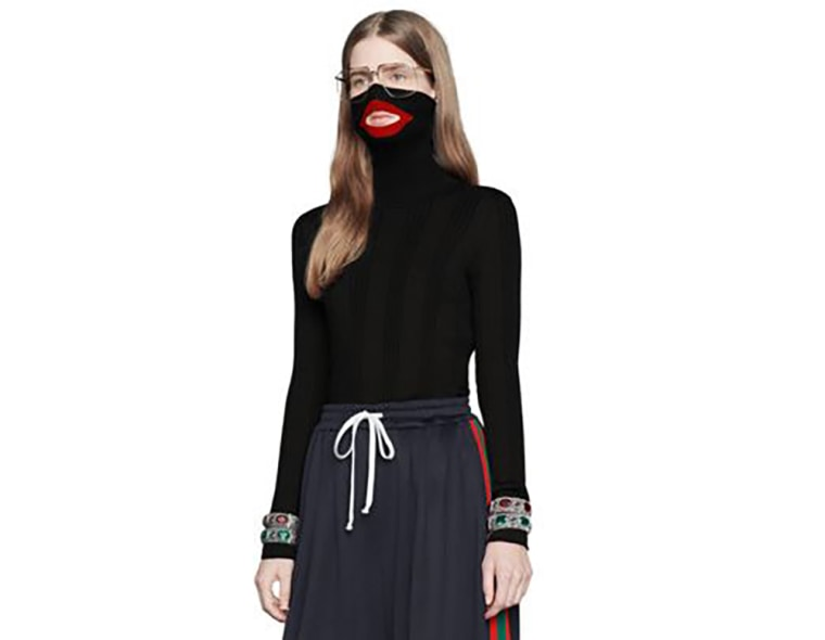 53e9e30140f Image  The black balaclava sweater from Gucci s 2018