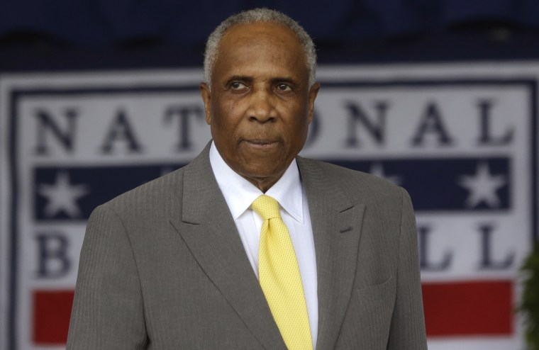 Frank Robinson, baseball's first black manager and Hall of Famer, dead at 83