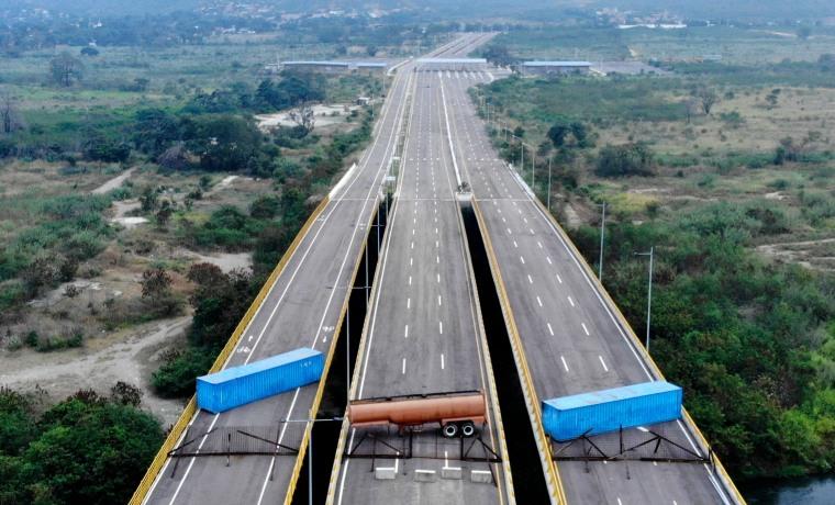 Image: TOPSHOT-COLOMBIA-VENEZUELA-CRISIS