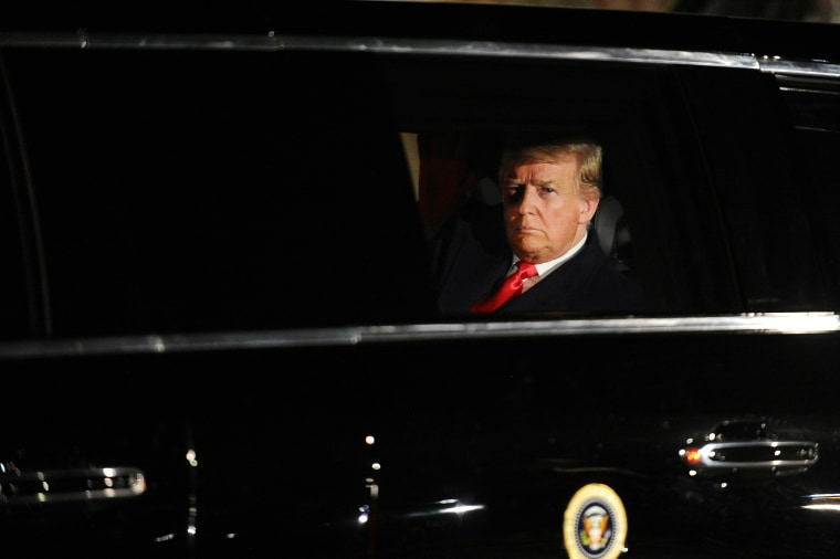 Image: U.S. President Trump departs the White House to deliver his State of the Union address to a joint session of Congress in Washington
