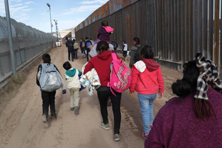 Image: U.S. Customs And Border Patrol Agents Patrol Border In El Paso, TX
