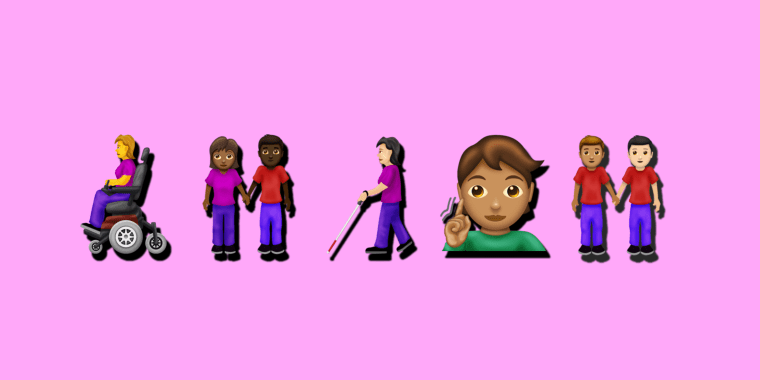 Illustration of new emojis.