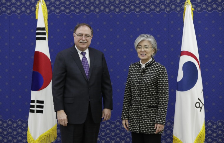 Image: U.S. And South Korea To Sign Provisional Defense Cost-Sharing Deal