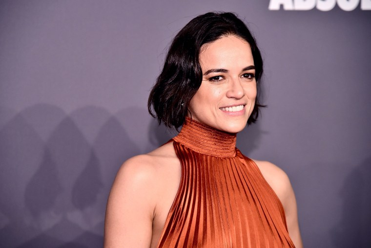 Image: Michelle Rodriguez attends the amfAR New York Gala on Feb. 6, 2019.