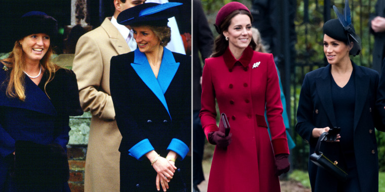 Sarah Ferguson compares Kate/Meghan 'rivalry' to her relationship with Diana