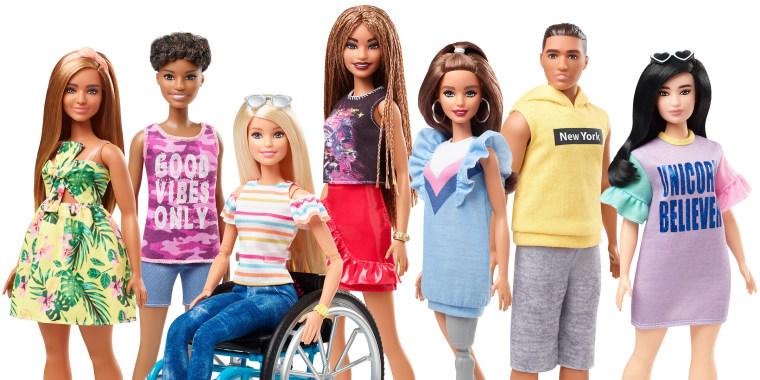 Barbie is a lot more inclusive now!