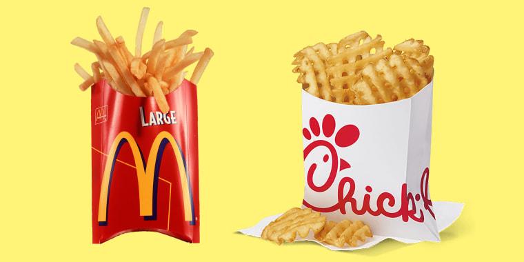 LA Time's fast food fry ranking