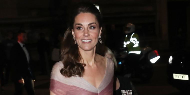Image: The Duchess Of Cambridge Attends 100 Women In Finance Gala Dinner
