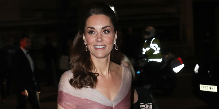 Image: The Duchess Of Cambridge Attends 100 Women In Finance Gala Dinner