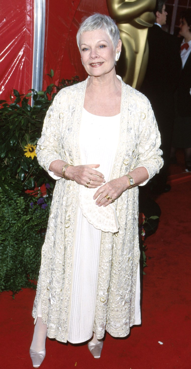 Judi Dench during 71st Annual Academy Awards - Arrivals at Dorothy Chandler Pavilion in Los Angeles, California, United States. (Photo by SGranitz/WireImage)