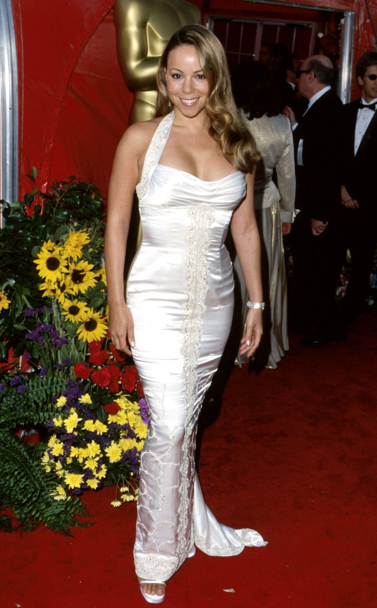 Mariah Carey during 71st Annual Academy Awards - Arrivals at Dorothy Chandler Pavilion in Los Angeles, California, United States. (Photo by SGranitz/WireImage)