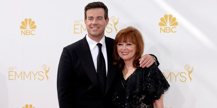 Image:t Carson Daly and Pattie Daly Caruso