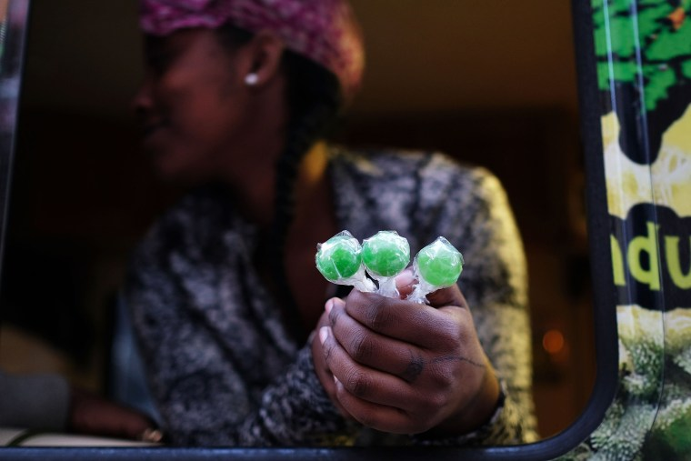 Image: NYC Vending Truck Sells Edible Marijuana Treats