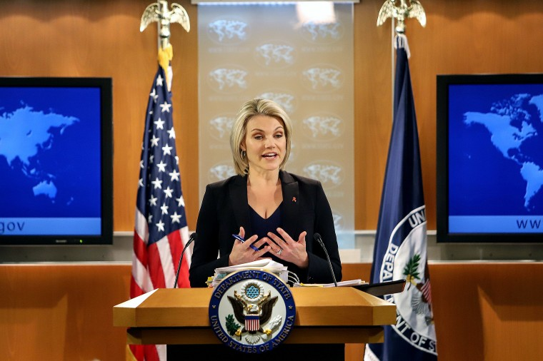 Heather Nauert withdraws from consideration for U.N. ambassador