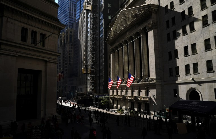Image: The New York Stock Exchange on Wall Street in New York on Oct. 23, 2018.