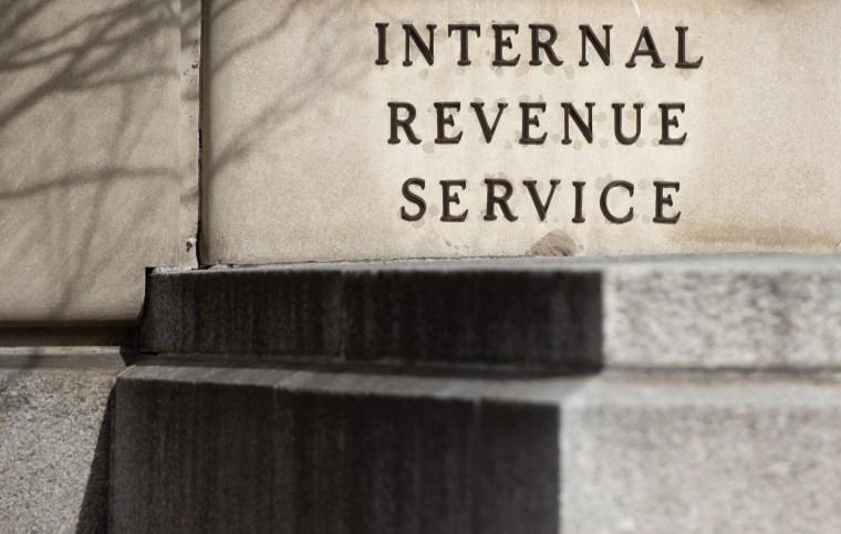 Image: The Internal Revenue Service building in Washington on Jan. 28, 2019.