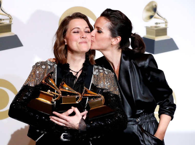 Image: 61st Grammy Awards - Photo Room - Los Angeles, California, U.S.