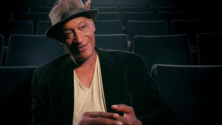 Tony Todd, actor, Candyman, speaks during the documentary Horror Noire.