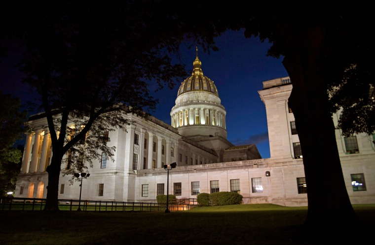 Image: The State Capitol in Charleston, West Virginia.
